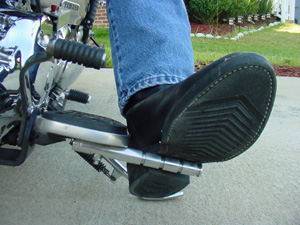 the cruiser kick out pegs in use